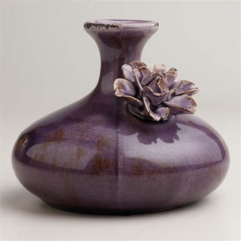 Purple Bud Vase by Purple Flower Bud Vase Vases By Cost