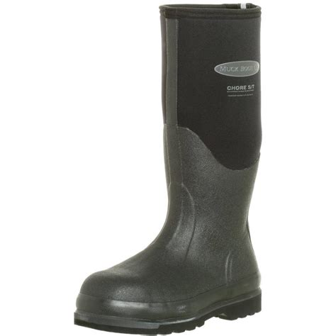 chs shoes muck chs 000a chore classic hi steel toe waterproof work boot