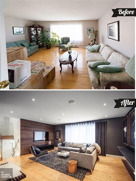 living room layout challenge revisited a before after antes y despu 201 s de sal 243 n anticuado a actual elegante y