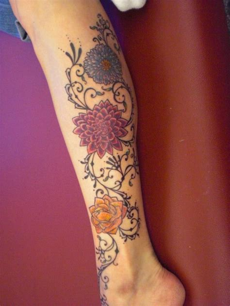 tattoo design for girl on leg the most beautiful tattoo designs on leg for girls