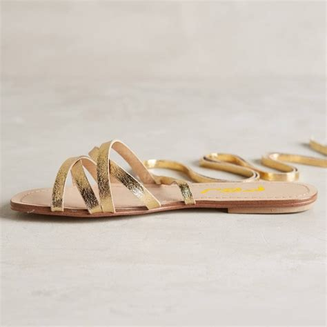 strappy comfortable sandals golden gladiator sandals open toe comfortable flats