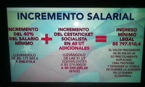 aumento de sueldo a partir del 1 decretan aumento de 40 de sueldo a partir del 1ero de