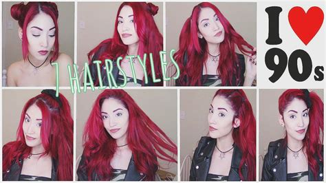 90's Hairstyles (Quick and Easy)   YouTube