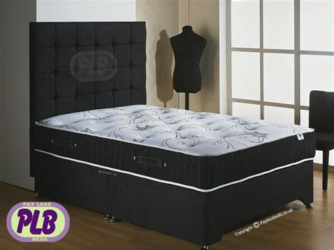 ultra king bed back care ultra divan complete support at paylessbeds