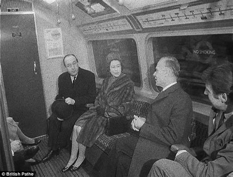 film footage of queen victoria london underground s 150th anniversary the day the queen