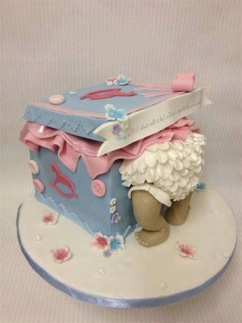 Baby Shower Cake For Baby by Baby Bottom Cake Fancy Cakes More
