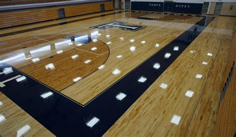 tempe high school new look azgym floors