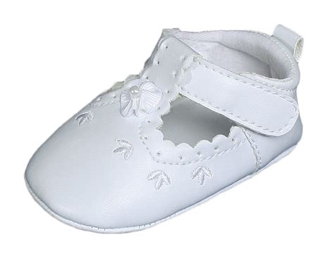 crib shoes baby all white faux leather crib shoe with