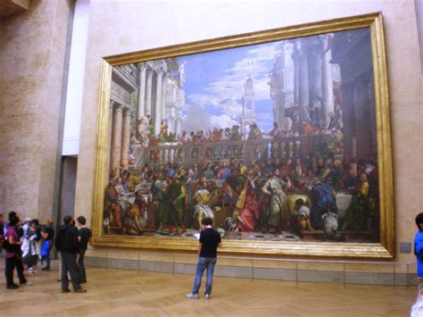 Wedding At Cana Painting In The Louvre by The Of Splendor Wedding Feast At Cana By Paolo