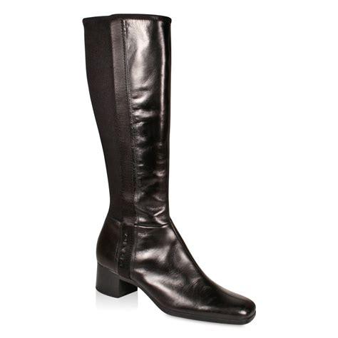 prada s designer boots nappa leather square toe