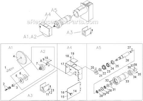 surface grinder diagram jet jpsg 618m1 parts list and diagram 414519
