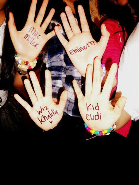 kid cudi hand tattoo eminem kid cudi mac miller quotes image 347600