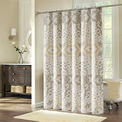 48 shower curtain welwo paisley stall shower curtain set 48 x 72 inches