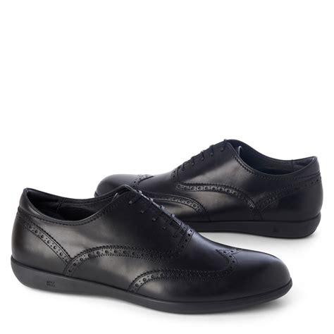 zegna shoes ermenegildo zegna wingcap oxford shoes in black for lyst