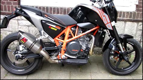 Ktm 690 Duke Powerparts Ktm Duke 690 2012 With Powerparts