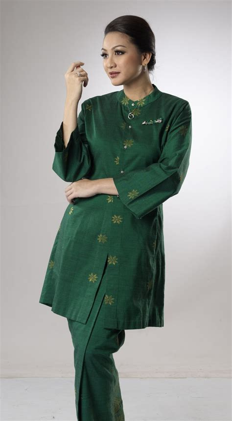 Blus Tunic Songket salikin sidek traditional costume baju kurung kebaya and traditional