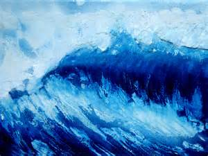 contemporary abstract wave paintings channeling the
