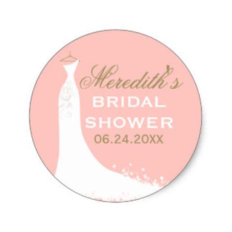 bridal shower stickers zazzle