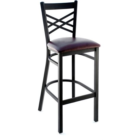 X Back Bar Stool by X Back Metal Bar Stool