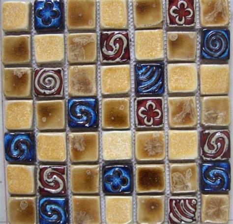 ceramic tiles for crafts hand craft porcelain ceramic mosaic wall tile backsplash