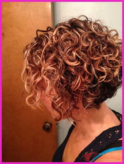 fine hair color and bob perms cool 19 new curly perms for hair hairstyleslatest com