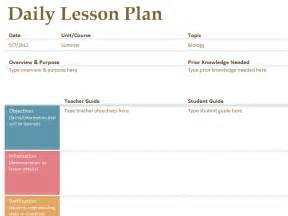 Lesson plan template word templates free weekly lesson plan template