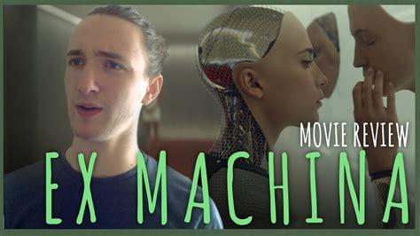 ex machina movie review film summary 2015 roger ebert ex machina movie review youtube