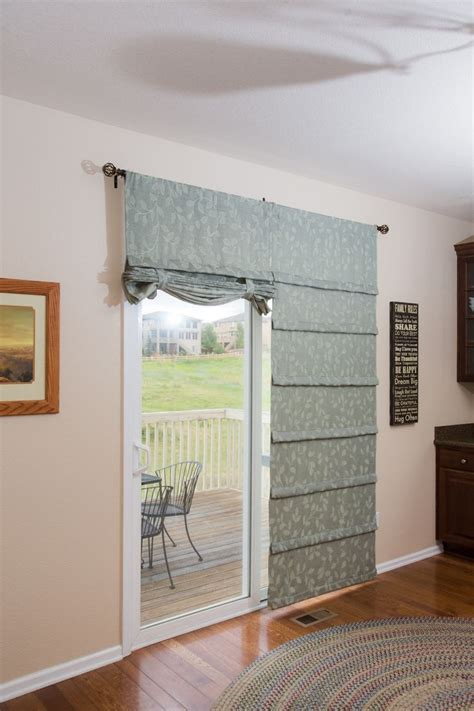sliding door curtain rods 26 best images about sliding glass door curtains on