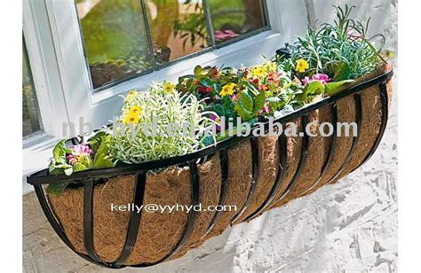 Wall Trough Planters by Wall Mounted Trough Planters Buy Basket Tree Planting