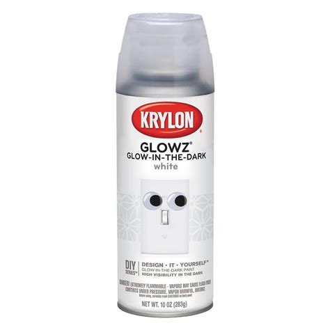 glow in the spray paint new zealand shop krylon white glow in the lacquer spray paint