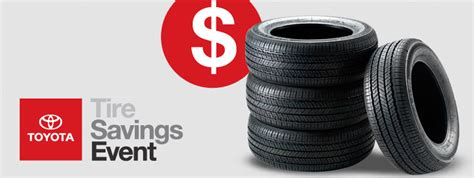 Toyota Tire Savings Event Toyota Tires For Sale Near Eau Markquart Toyota