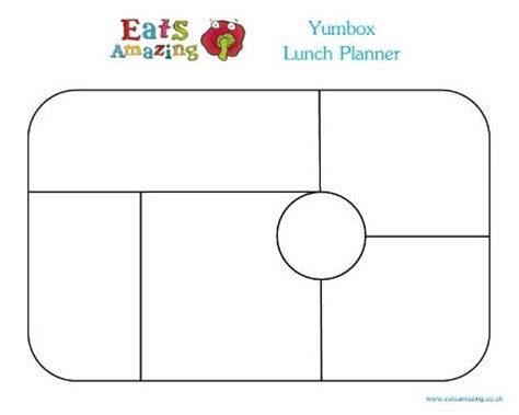 bento templates yumbox template lunch planners eats amazing