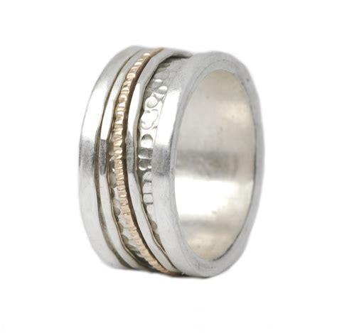 Bicolor Ring by Eleganter Bicolor Ring Silber Gold Shr 3319tiljon