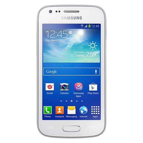 Samsung Ace 3 4g Samsung Galaxy Ace 3 Gt S7275 Blanc Mobile Smartphone