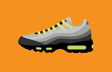 most iconic sneakers 40 years of nike s most iconic shoe designs visualised