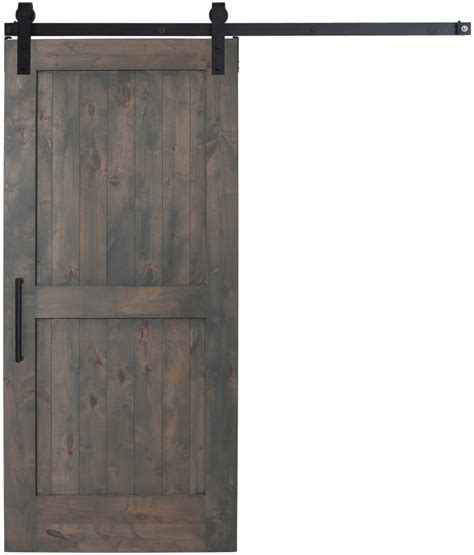 Sliding Barn Door Parts Sliding Interior 2 Panel Barn Door Rustica Hardware