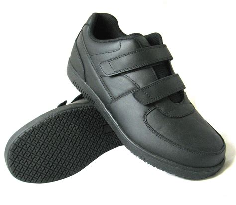 womens velcro athletic shoes genuine grip s slip resistant velcro closure