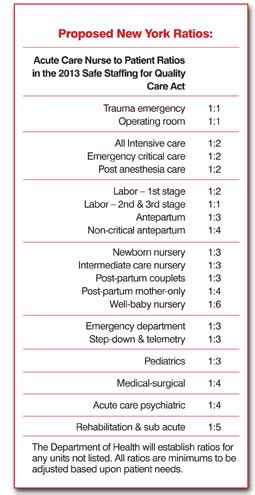 what s in the proposed new york state nurses