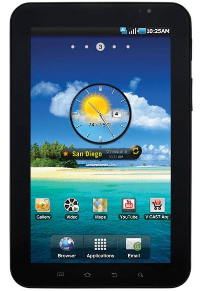 Samsung Galaxy Tab P1010 samsung gt p1010 is the galaxy tab without 3g intomobile