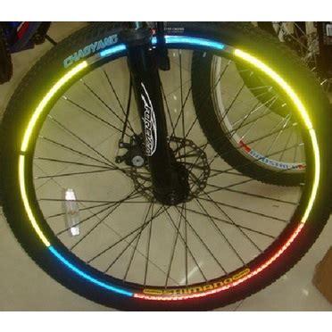 Bicycle Wheel Reflective Sticker Stiker Roda Sepeda 8 bicycle wheel reflective sticker stiker roda sepeda 8 green jakartanotebook