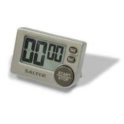 Kitchen Timer by Salter Big Button Electronic Digital Kitchen Timer Silver