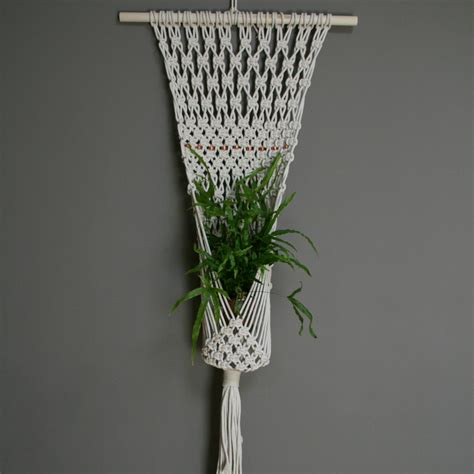 Free Patterns For Macrame Plant Hangers - macrame plant hanger patterns images