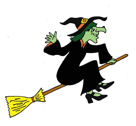 the halloween witch
