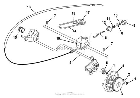 honda lawn mower parts diagram ariens 911097 000101 lm21 s3al 5 5hp honda recoil