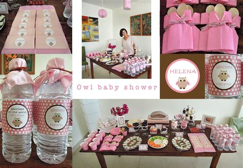 Baby Shower by Owl Baby Shower Around Table