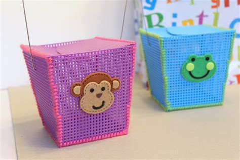 plastic canvas crafts box