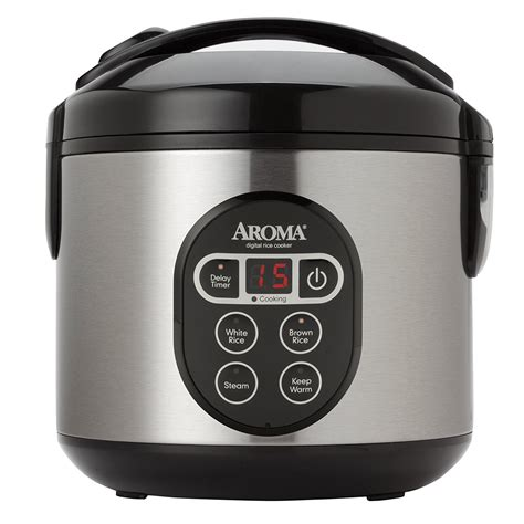 Rice Cooker Digital aroma 8 cup rice cooker with delay timer review