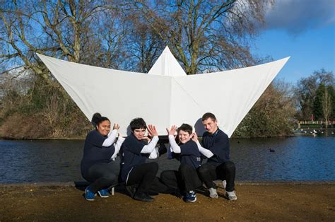 how to make a giant paper boat 10 best giant origami paper boat images on pinterest