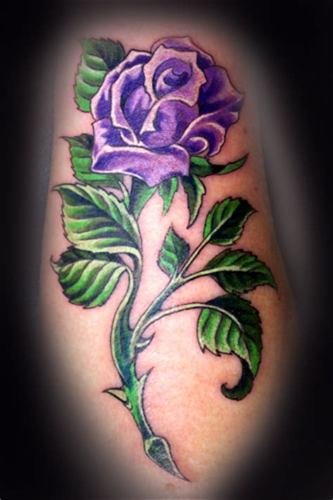 purple rose tattoo meaning memes