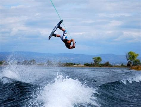 wakeboard boat hours wakeboard trick picture of lake harmony watersports